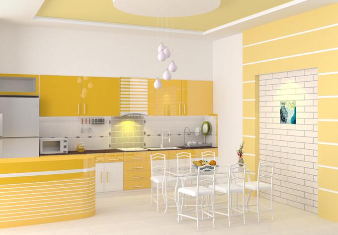 Thủ thuật làm đẹp không gian bếp hiện đại
